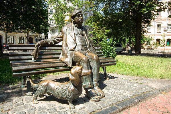 памятник Яковченко