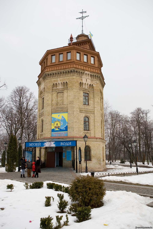 водонапорная башня (музей воды)
