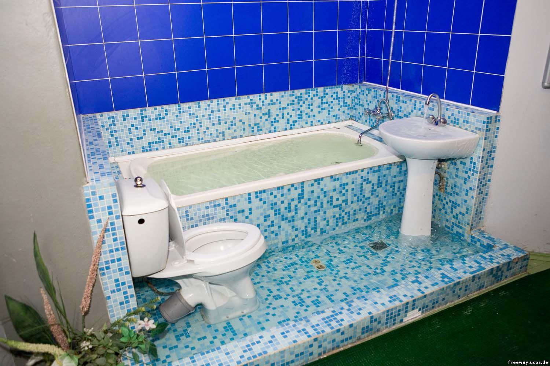 экспозиция ванной комнаты
