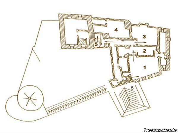 План 5 этажа замка Bran