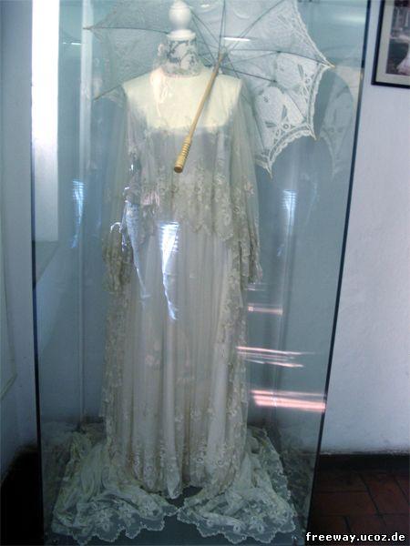 Вышитое платье из тюля принцессы Илеаны