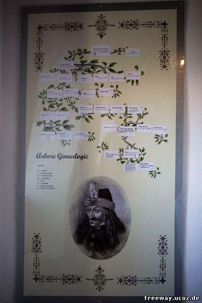 Влад Цепеш и его генеалогическое дерево
