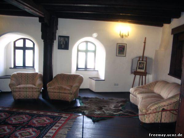 Интерьер замка Bran