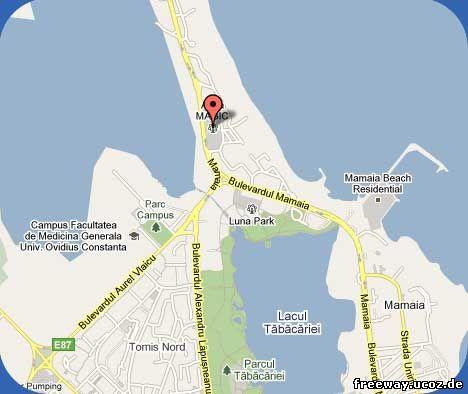 Местоположение аквапарка