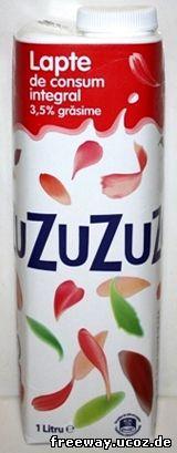 Молоко ZUZU