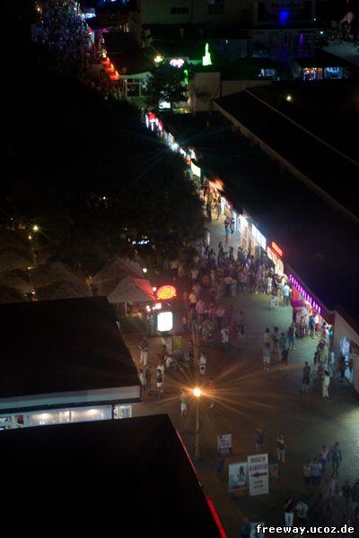Ночной вид на район Cazino