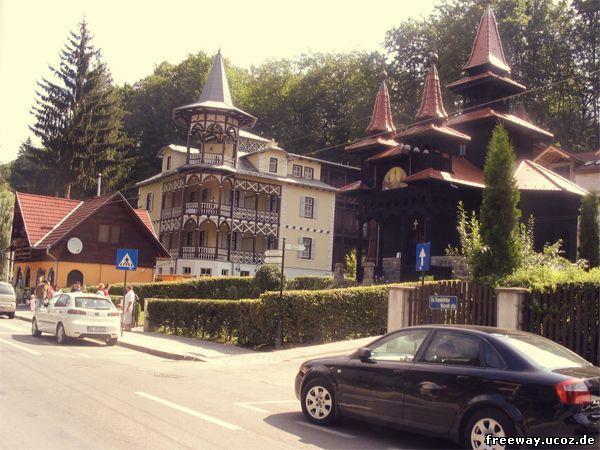 Один из домов курорта Sovata