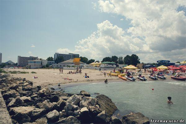 Пляж курорта Jupiter.