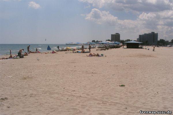 Пляж курорта Saturn.