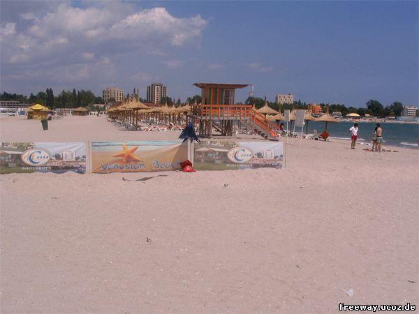 Пляж курорта Venus.