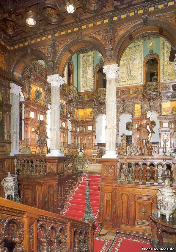 Замок Peles. Зал славы или Приемный зал (Holul de onoare)