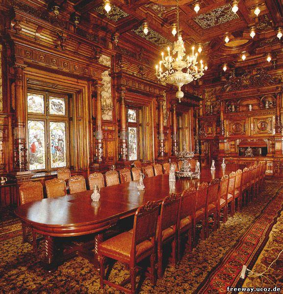 Замок Peles. Столовая комната (Sufrageria)
