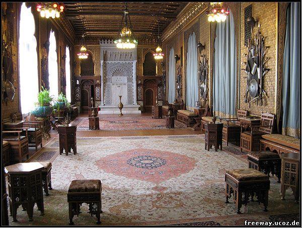 Замок Peles. Мавританский зал (Sala Maura)