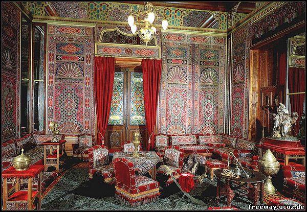 Замок Peles. Турецкий зал (Salonul Turcesc)