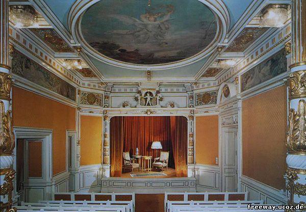 Замок Peles. Театральный зал (Sala de teatru)