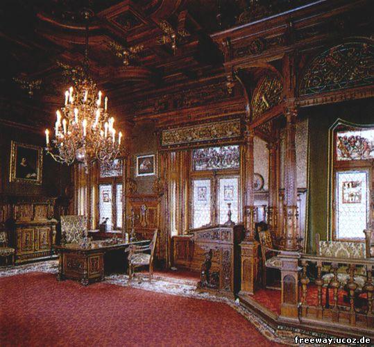 Замок Peles. Кабинет короля Кароля I (Cabinetul de lucru)