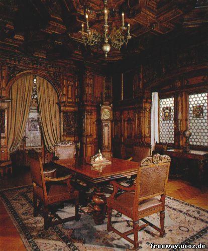 Замок Peles. Зал совещаний (Sala de Сonsilii)
