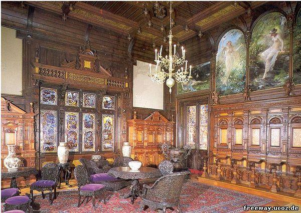 Замок Peles. Музыкальный зал (Sala de muzica)
