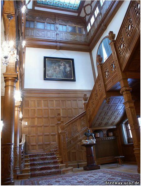Замок Pelisor. Зал славы (Holul de onoare)